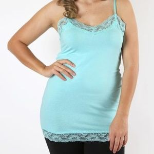 Tops - Layla Lace Trimmed Cami